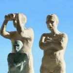 """I årets Skulpturpark """"Familjen"""" Maria Eriksson"""
