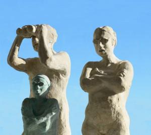 """""""Familjen"""" Skulptur av Maria Eriksson från Sundsvall"""